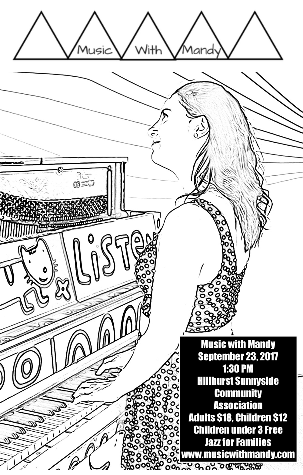 enter the colouring contest to win tickets to our september 23 show