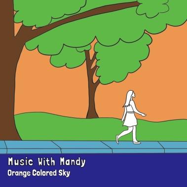 orange colored sky single release